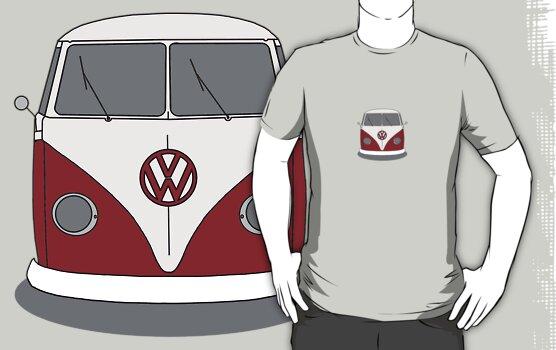 VW Splitwindow Kombi Front Small by frenzix