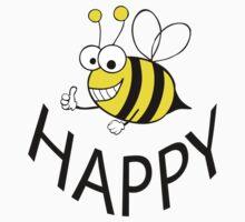 BEE HAPPY Kids Tee