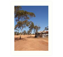 Outback Kalgoorlie Western Australia Art Print