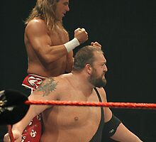 WWE - HBK / Big Show by xTRIGx