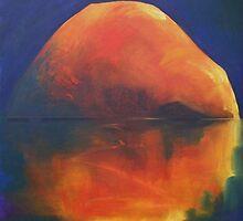 Reflected Rock by Deborah Milligan