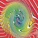 Rainbow swirl by Jayson Gaskell