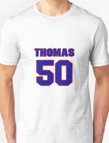 National baseball player Justin Thomas jersey 50 T-Shirt