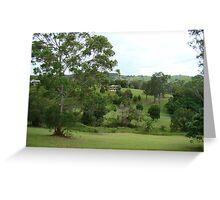 Kin Kin Landscape Greeting Card
