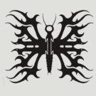 tribal butterfly 4 by Dalton Sayre