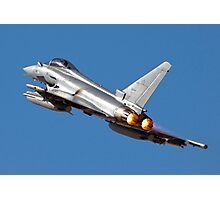 Italian Air force Eurofighter Typhoon in flight Photographic Print