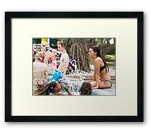 The Splash Framed Print