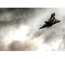 Eurofighter Typhoon is a twin-engine canard-delta wing multirole aircraft Photographic Print