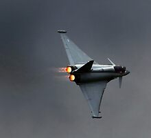 Eurofighter Typhoon is a twin-engine canard-delta wing multirole aircraft by PhotoStock-Isra