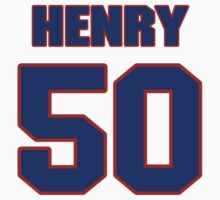 National baseball player Butch Henry jersey 50 by imsport