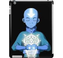 Avatar The Last Airbender Aang's Avatar State With Raava iPad Case/Skin