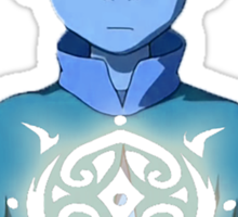 Avatar The Last Airbender Aang's Avatar State With Raava Sticker