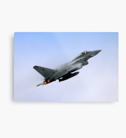 Eurofighter Typhoon is a twin-engine canard-delta wing multirole aircraft  Metal Print