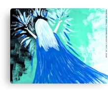 who needs a knight when you've got you? Canvas Print
