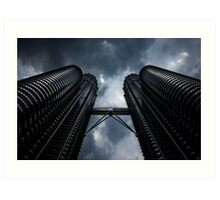 Petronas Twin Towers Art Print