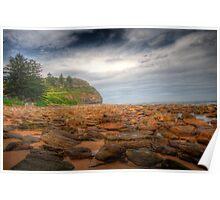 Sydney Beaches - Avalon Beach - The HDR Series - Sydney Australia Poster