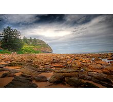 Sydney Beaches - Avalon Beach - The HDR Series - Sydney Australia Photographic Print