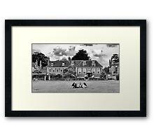 The Village Green Framed Print