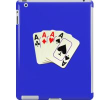 Deck of Lucky Ace Cards - Poker T-shirt Sticker iPad Case/Skin