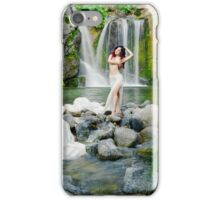 Muse in the Secret Falls iPhone Case/Skin