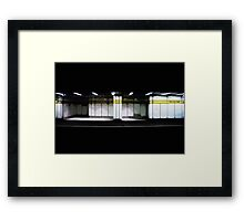 Four Lanes End Framed Print