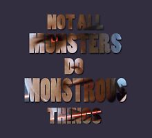 Not All Monsters Do Monstrous Things [Scott Alpha] Long Sleeve T-Shirt