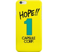 Hope! Time Capsule  iPhone Case/Skin