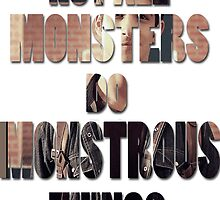 Not All Monsters Do Monstrous Things [Scott McCall] by thescudders