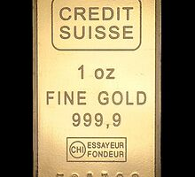 Gold Ingot iPhone / Samsung Galaxy Case by Tucoshoppe