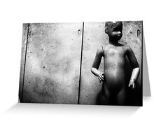 KID MANNEQUIN Greeting Card