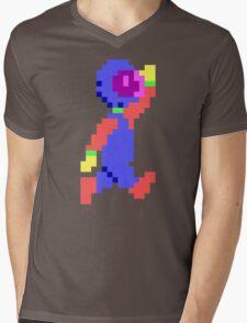 Captain Comic HD - Retro DOS game pixel art fan shirt Mens V-Neck T-Shirt