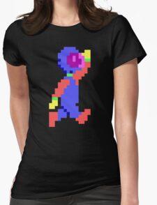Captain Comic HD - Retro DOS game pixel art fan shirt Womens Fitted T-Shirt