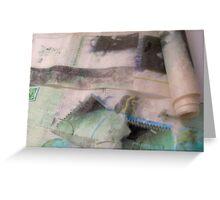 Rouleaux (de printemps) - Spring Rolls  Greeting Card