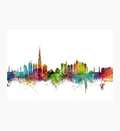 Dubai Skyline Photographic Print