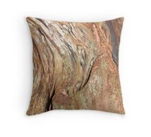 """Western Red Cedar Close Up"" Throw Pillow"