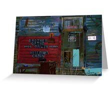 Hillbilly Cabin Greeting Card