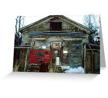 Redneck Mansion Greeting Card