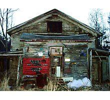 Redneck Mansion Photographic Print