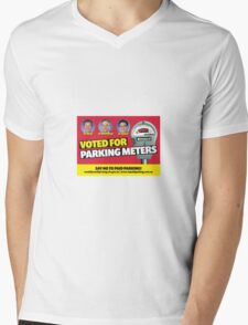 Yarraville and Seddon say No to Parking Meters Mens V-Neck T-Shirt