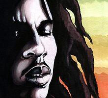 Bob Marley by albandizdari