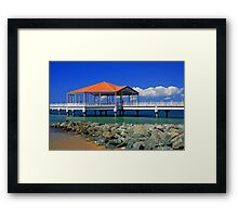 Redcliffe Pier Framed Print