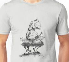 Fire Dancing Dino! Unisex T-Shirt