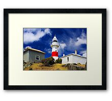 Low Head Lighthouse Framed Print