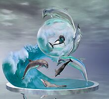 Majestic Sea Worlds (a.k.a. When Worlds Collide) by Lisa  Weber