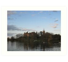 Linlithgow Palace from the Loch Art Print