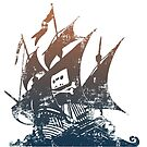 Pirate Bay distressed by colourfreestyle