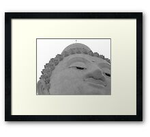 Big Buddha Framed Print