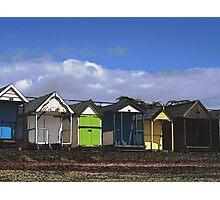 Thorpe Bay Beach Huts Photographic Print