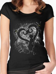 Keyblade Chosen Women's Fitted Scoop T-Shirt