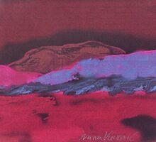 Mars Sea by Ivana Vuckovic